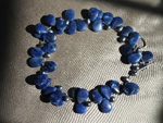Sodalite Teardrop Necklace